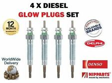 FOR TOYOTA AVENSIS + VERSO 2.0DT D4D 2000-  4X DIESEL ENGINE GLOW PLUG SET