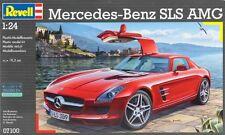 Revell of Germany [RVL] 1:24 Mercedes SLS AMG Plastic Model Kit RVL07100