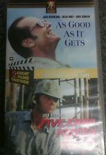 Five Easy Pieces - As Good As It Gets - Jack Nicholson 2 for 1 -VHS Video Tape