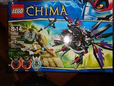 New Lego Legends of CHIMA 70012 Razar's CHI Raider 412 pc with 3 Minifigures!