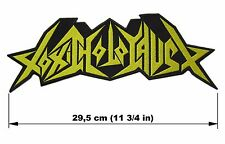 TOXIC HOLOCAUST logo BACK PATCH embroidered NEW thrash metal