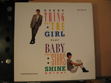 EVERYTHING BUT THE GIRL Baby the stars shine bright +inner sleeve-  free UK post