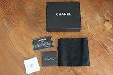 Authentic Chanel Gift Box Empty Only Cert of Authenticity Etui Telephone Wallet