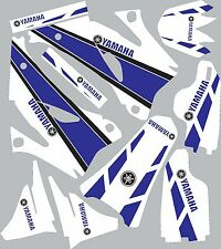 2006-2009 Yamaha YZ250f 450f YZ 250f Graphics Decals Shrouds Rear fender Sticker