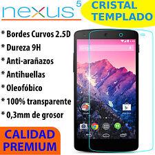 CRISTAL TEMPLADO PROTECTOR DE PANTALLA 0.3MM PARA LG GOOGLE NEXUS 5 9H 2.5D