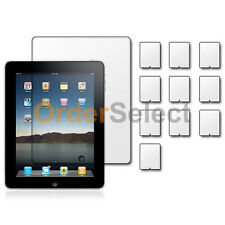 """10X New Clear LCD Screen Shield Guard Protector for Tab Tablet Apple iPad 1 9.7"""""""
