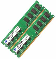 4GB 2X2GB DDR2 533 PC2 4200 Non-ECC Unbuffered Desktop PC Memory RAM 240-pin