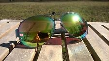 Mens Maxx HD Sunglasses gold vision 16 aviator womens silver mirrored