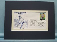 Honoring Detroit Tiger Great Ty Cobb & First Day Cover of his own stamp