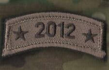 US WAR ON TERROR COMMEMORATIVE TROPHY VELCRO MULTICAM TAB SINCE 9-11: 2012