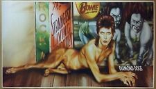 "Ziggy Stardust GIANT WIDE 42"" x 24"" Poster David Bowie Diamond Dogs Band Concert"