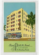 ROYAL PALM HOTEL, ST.PETERSBURG: Florida USA postcard (C2124).