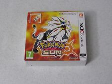 Pokémon Sun SteelBook Fan Edition Nintendo 3DS UK Import FREE SHIPPING