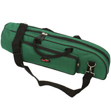 New High Quality Trumpet Gig Bag Case Nylon Padded Atrovirens Green