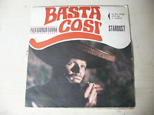 "PIERGIORGIO FARINA""BASTA -disco 45 giri BDM it-ONLY COVER/SOLO COPERTINA- OST"
