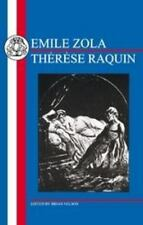 Emile Zola: Therese Raquin (French Texts)-ExLibrary
