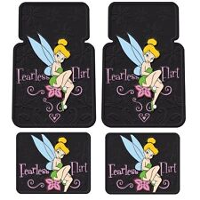New Disney Tinkerbell Fearless Flirt Car Truck Rubber Floor Mats Interior Set