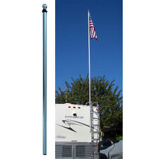 Flag Pole Buddy DPH16 16' Fiberglass Pole Trailer RV Camper
