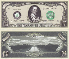 George Washington 1st US President Novelty Bill #P01