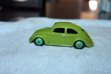 DINKY TOYS # 181 VW Beetle  ..........ORIGINAL MINT RARE RARE GREEN FIRST ISSUE