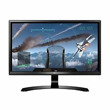 "LG 24"" 4K UHD IPS Gaming Monitor with FreeSync (3840 x 2160) Screen Split NEW"