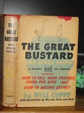 The Great Bustard, How To Tell Your Friends From Apes & How To Become Extinct