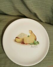 "Opificio Etico 11.5"" cheese design round platter serving plate Italy"