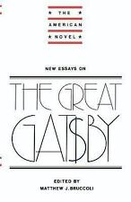 New Essays on The Great Gatsby (The American Novel),