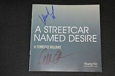 GILLIAN ANDERSON & VANESSA KIRBY (Jupiter Ascending) signed Autogramm In Person