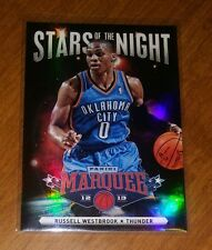 2012-13 Panini Marquee Stars of the Night Refractor Like Russell Westbrook