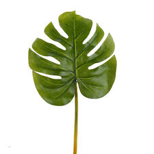 Pack of 3 Monstera leaves 30cm long - Artificial Tropical Leaf - Foliage