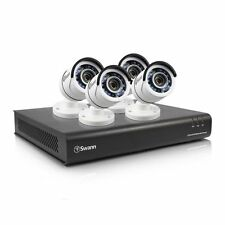 NEW Open Box Swann SWDVK-845004 8 Channel 1080p DVR w 1TB & 4 x PRO-T855 Cameras