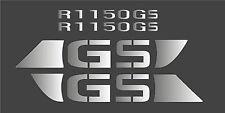 Aufkleber für BMW R1150GS Tank Verkleidung R 1150 GS silber / 1100 1200