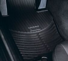 BMW 7 Series E65, E66 Rubber All Weather Mats FRONT Black 82550151186