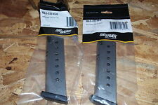2 - 8rd - Sig P-220 -- factory NEW - stainless steel -- .45acp magazines (S142)