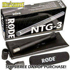 RODE NTG3 Professional Precision Shotgun Mic -NTG-3 Make Offer!NEW! Auth Dealer!