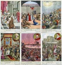 Chromo Liebig Sang. 1474 ITA L'Anno Santo e le sue origini II ANNO 1949