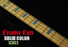 Billy Sheehan Attitude 3 Yamaha Style BLUE Fret Marker Inlay Decals for ANY BASS