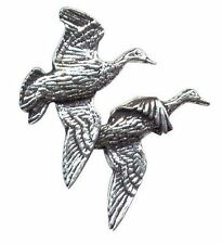 TWIN Flying Anatre Peltro Tiro Pin Badge