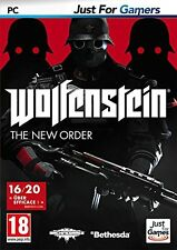 "JEU PC - WOLFENSTEIN : THE NEW ORDER ""NEUF"" JPC9005"