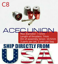 Metal Detail Up RED Luxury Thruster Set C8 For 1/100 MG Gundam - U.S.A. SELLER