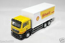 RMZ City 1:64 DIECAST MAN Shell Container Truck Model Yellow White COLLECTION