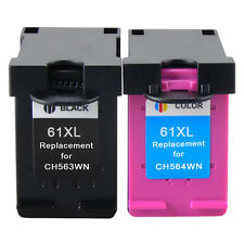 Compatible #61 XL Black/Color Ink For HP ENVY 4500 4501 4502 4504 5530 5531 5535
