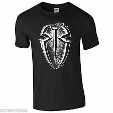 Roman Reigns T-Shirt - WWE Wrestling Fan Inspired Kids & Mens Gift Unisex Top