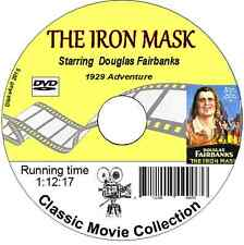 The Iron Mask being the later adventures of the Three Musketeers1929 DVD