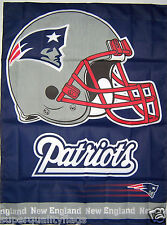 27X37 NEW NEW ENGLAND PATRIOTS BANNER WITH FLAG POLE SLEEVE MADE USA