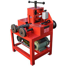 "Electric Tube Pipe Bender Roller Round-5/8-3"" Square-5/8-2"" 1400-RPM - 110 Volt"