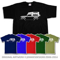 CLASSIC LAND ROVER LANDROVER DEFENDER 90 T-SHIRT - CHOOSE FROM 6 COLOURS S-XXXL
