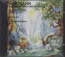 DANIEL LEVY - Schumann The chamber music with piano vol. 1 - CD EDELWEISS 1989