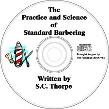 Learn How to Cut Hair - Barber Training Book on CD